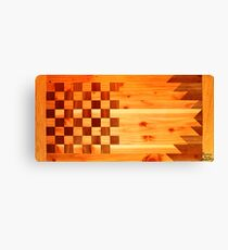 Woodworking Flag Canvas Print