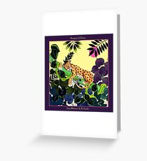 Lazy Afternoon by Ro London - Menagerie Collection Greeting Card