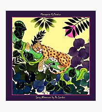 Lazy Afternoon by Ro London - Menagerie Collection Photographic Print