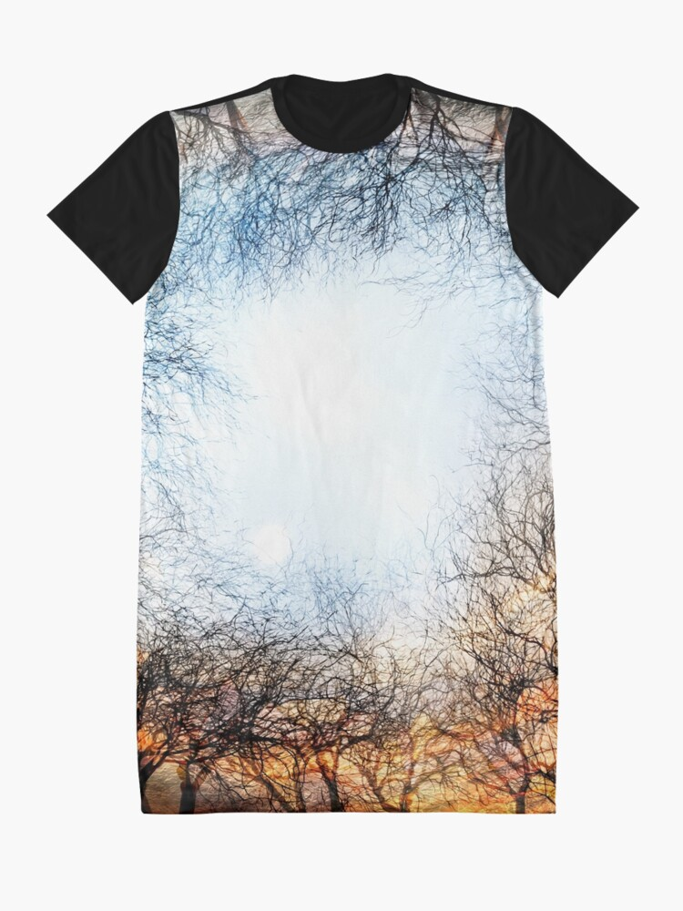Alternate view of The Gold From the Ground Graphic T-Shirt Dress