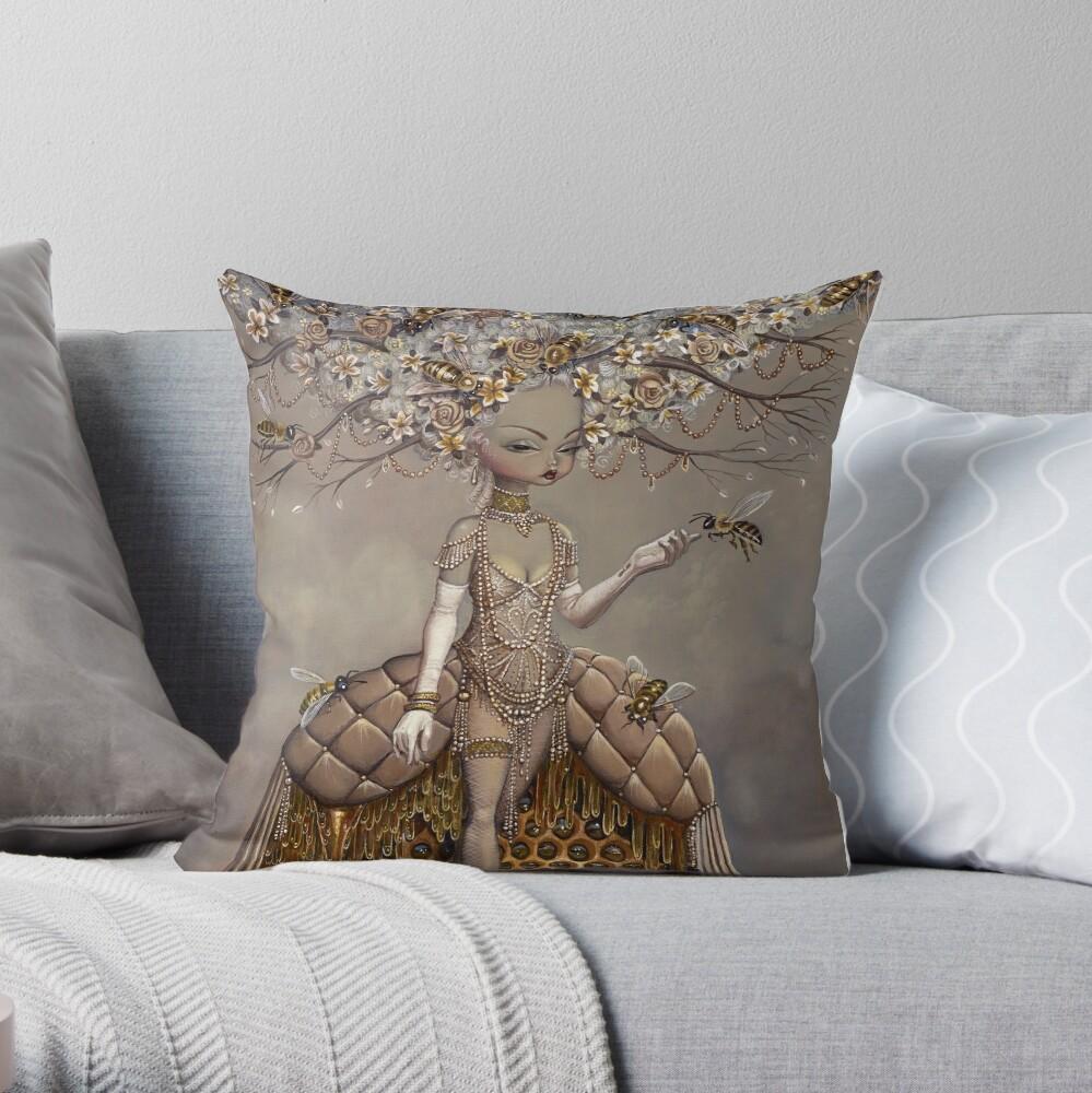 A Gift of Honey Throw Pillow