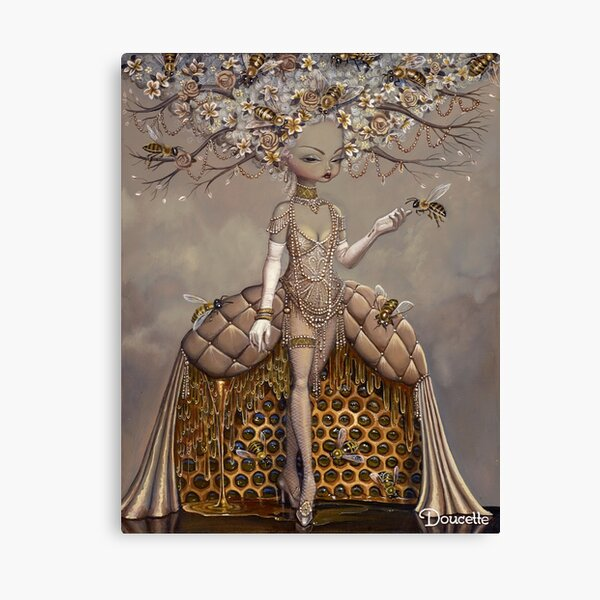 A Gift of Honey Canvas Print