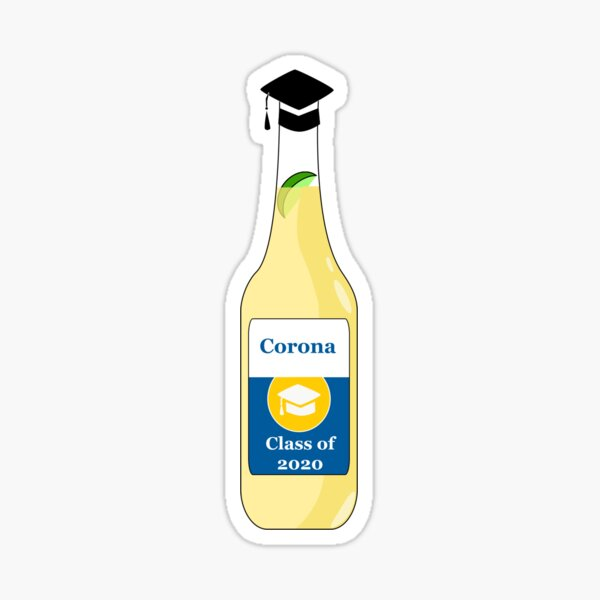 Corona Class of 2020 Sticker