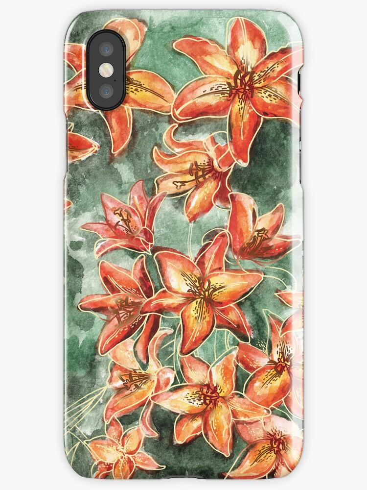 Tiger Lily by Nastia Larkina