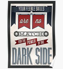 Star Wars Quote Poster Poster
