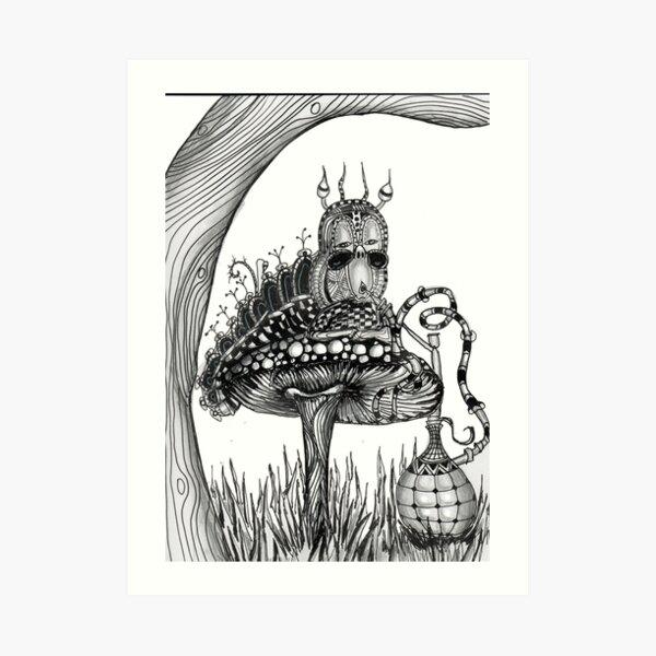 Grow up Alice Art Print