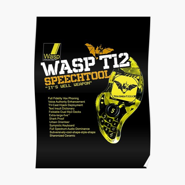 The Wasp T12 Speechtool Poster