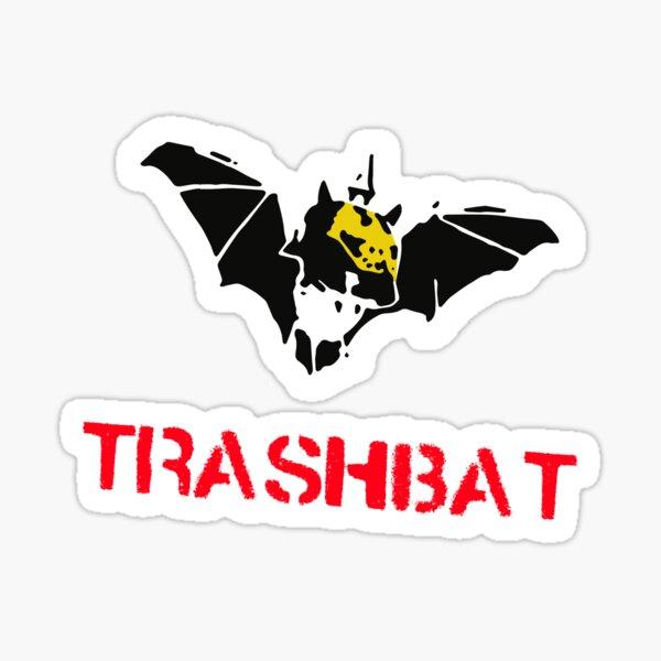 Trashbat Sticker