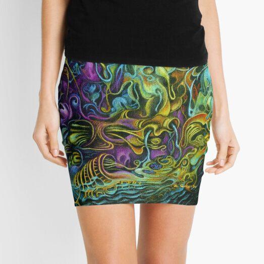 Nocturnal Maneuver Mini Skirt