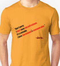 Daria - Self Esteem T-Shirt