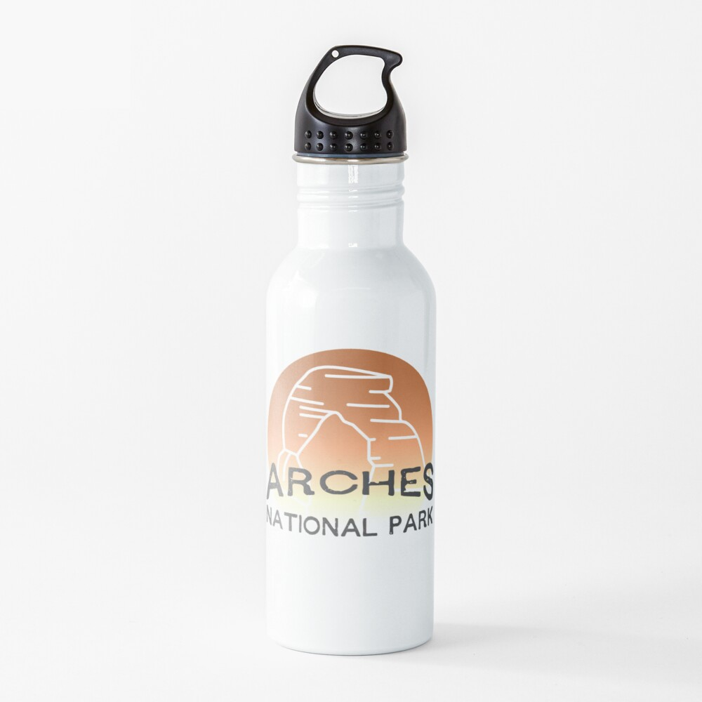 Arches National Park Sunset Water Bottle