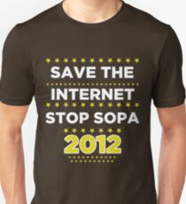 Save the Internet - Stop SOPA T-Shirt