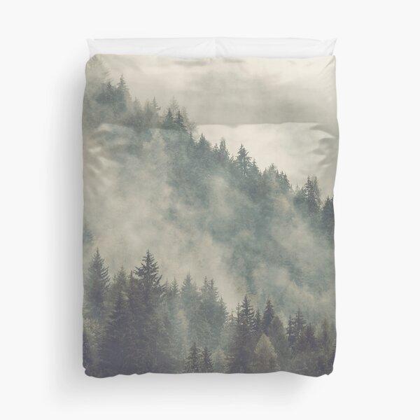 Nordic Mountain Mist Duvet Cover