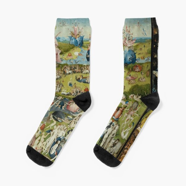 The Garden of Earthly Delights - Hieronymus Bosch Socks