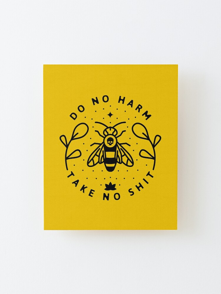 Alternate view of Do No Harm Mounted Print