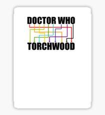 it's an anagram! (larger text) Sticker