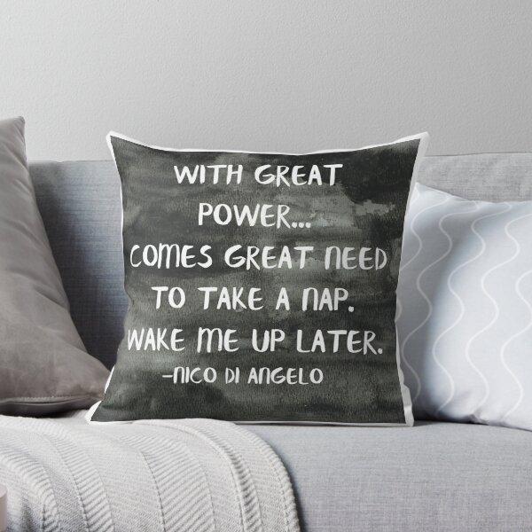 naps Throw Pillow
