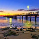 Golden Dawn, Point Lonsdale by bevanimage