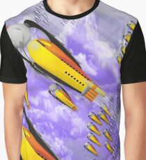 space ship invasion squadron  Graphic T-Shirt