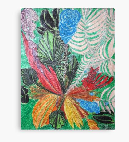 Flowers - vivid Canvas Print