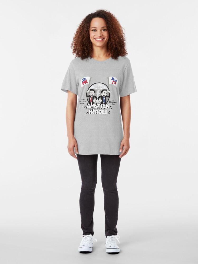 Alternate view of American Heroes Slim Fit T-Shirt