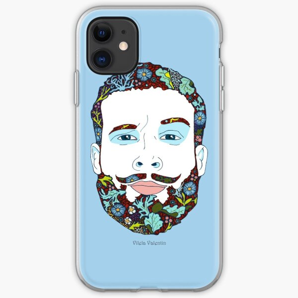A man of nature iPhone Soft Case