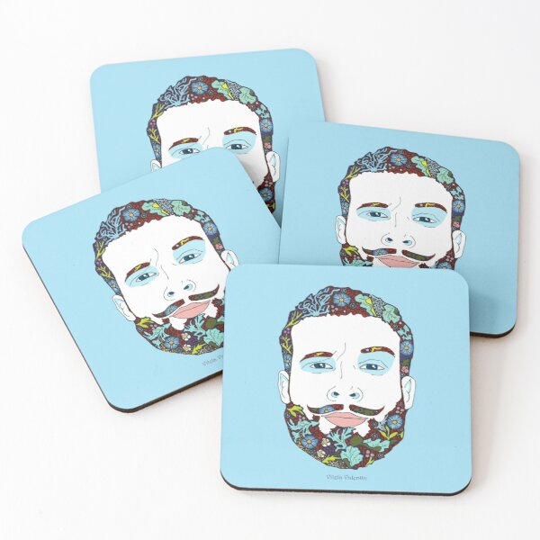A man of nature Coasters (Set of 4)