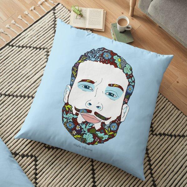 A man of nature Floor Pillow