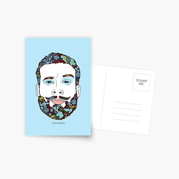 A man of nature Postcard