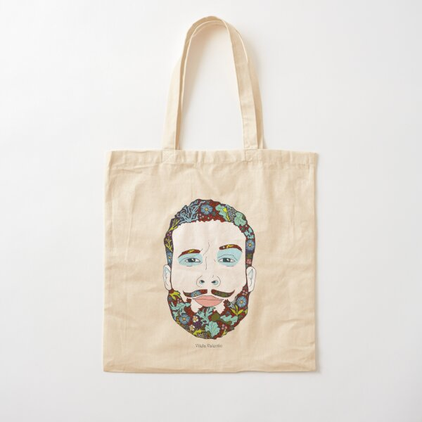 A man of nature Cotton Tote Bag