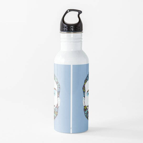 A man of nature Water Bottle