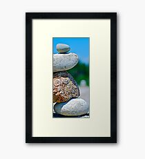 falling Up ! Framed Print