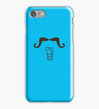 Mustache on iPhone Case/Skin