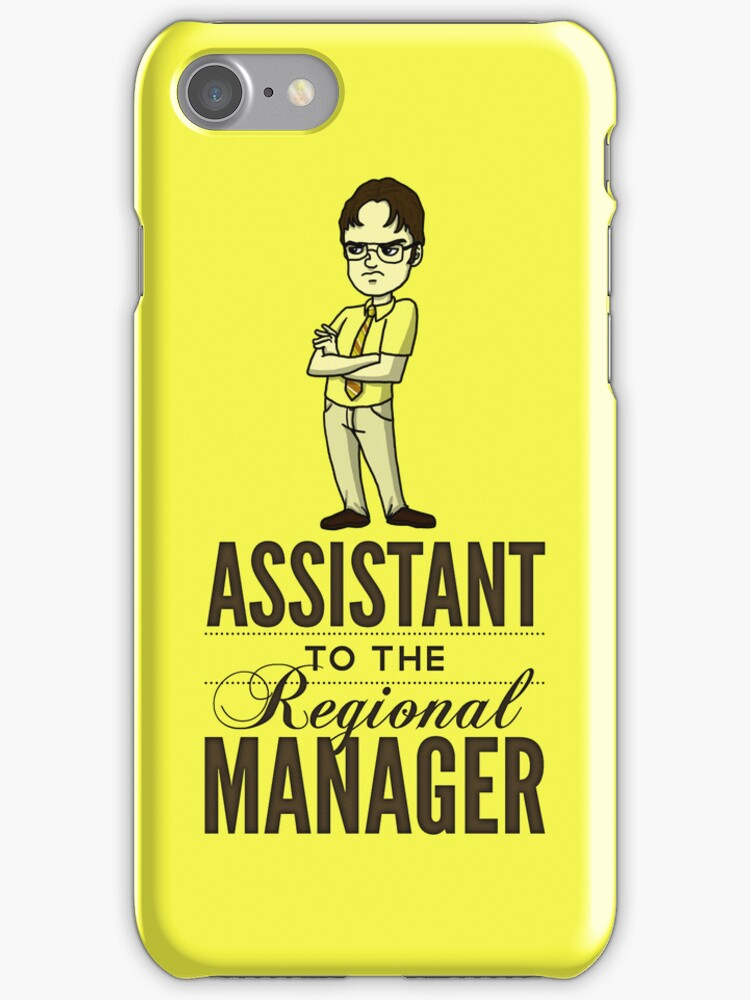 Assistant TO THE Regional Manager  by huckblade