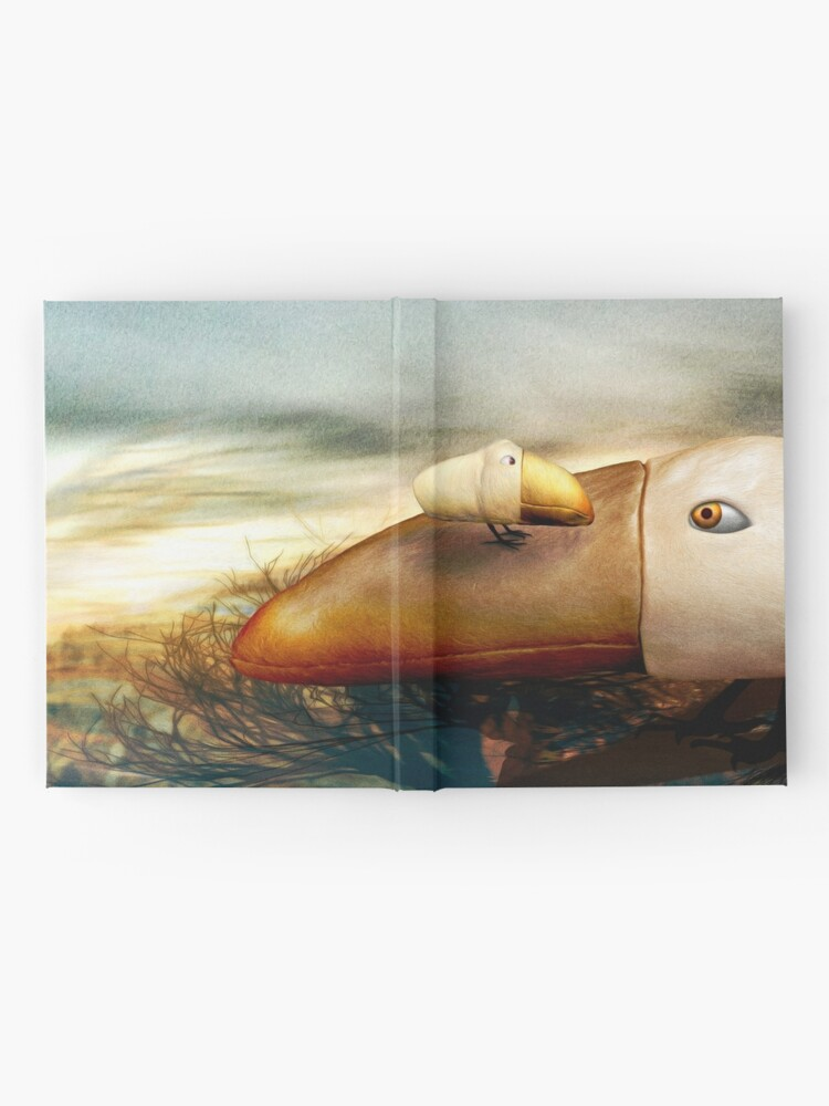 Alternate view of Where Have You Been, Dear? Hardcover Journal