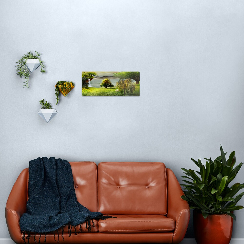 Living on a NW Corner of the Paradise Metal Print