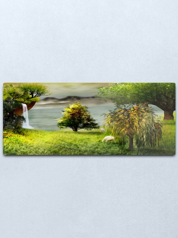 Alternate view of Living on a NW Corner of the Paradise Metal Print