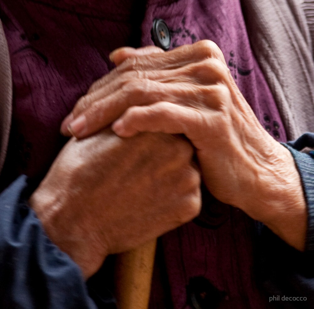 Hands Of A Long Life by phil decocco