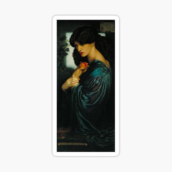 Proserpine by Dante Gabriel Rossetti Sticker