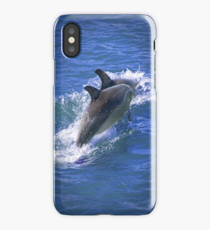 Dolphin Journey iPhone Case