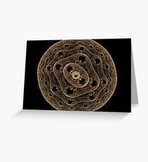 Fractal Virus Greeting Card