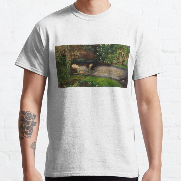 Ophelia by John Everett Millais Classic T-Shirt