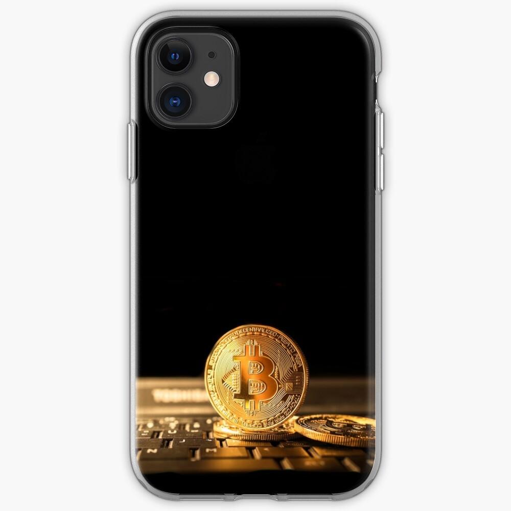 Bitcoin el nuevo oro Funda y vinilo para iPhone
