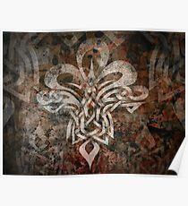 Celtic Knotwork - 203 Poster