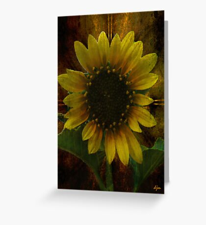 Summer Face Greeting Card