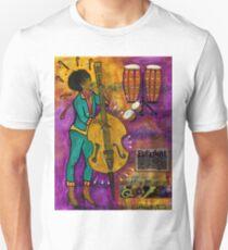 That Sistah on the Bass T-Shirt Unisex T-Shirt
