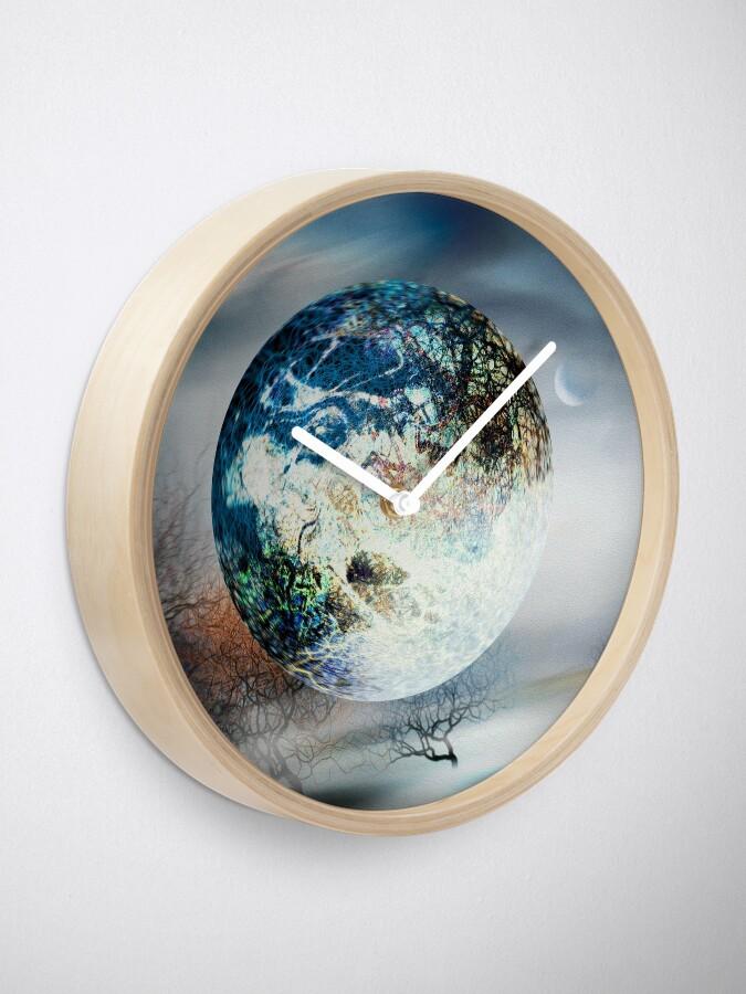 Alternate view of Big Blue Ball Clock