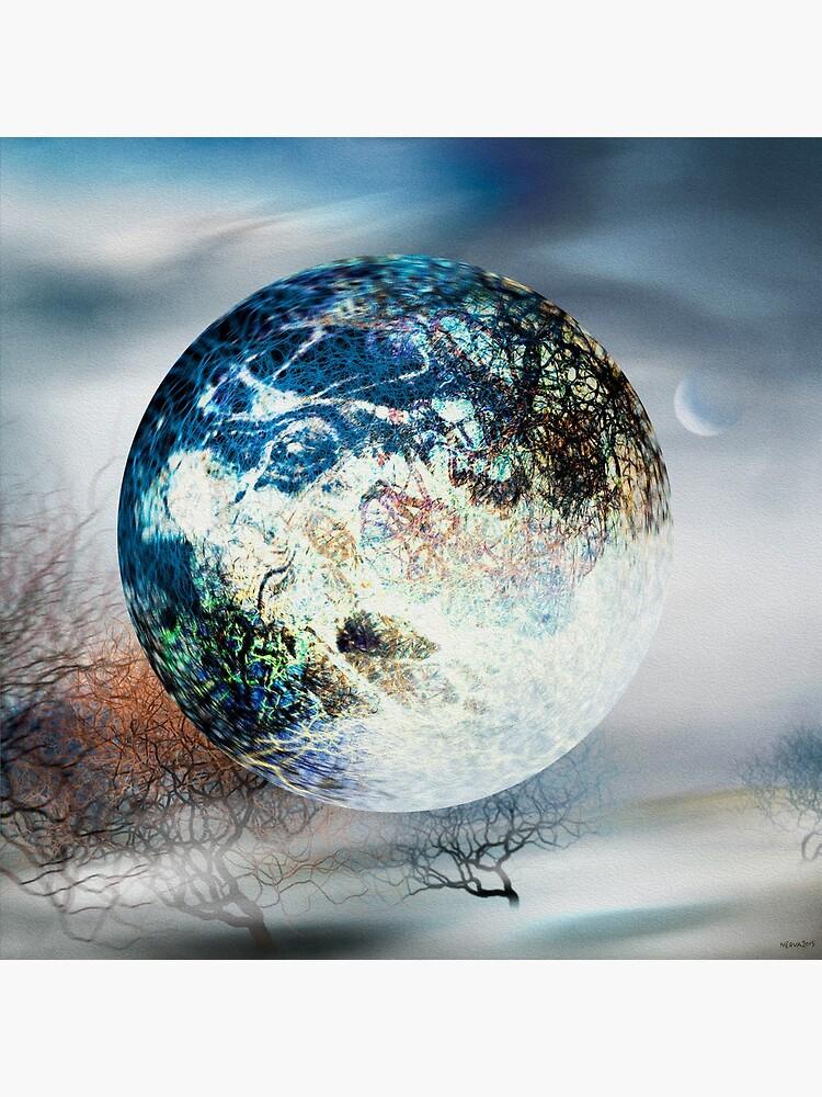 Big Blue Ball by Nerva