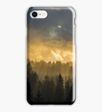 Streaming Beams from the Heavens iPhone Case/Skin