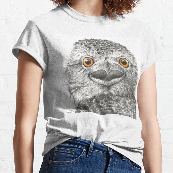 Tawny Frogmouth Surprise - by Nadya Neklioudova Classic T-Shirt